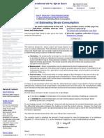 Methods of Estimating Steam Consumption