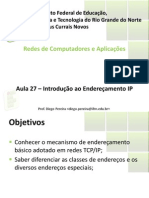 Aula27 - Introducao Ao Enderecamento IP