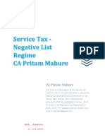 Service Tax eBook 9th Edition by CA Pritam Mahure