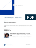 SAP Authorization_and Role