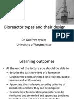 Bioreactor Types and Their Design(1) (1)2