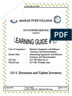 learning outcome 1
