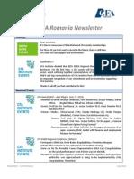 CFA Romania Newsletter - July 2014
