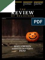 Halloween Harmless Or Harmful Fun ?