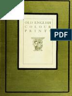 Holme Charles (Ed) Old English Colour Prints