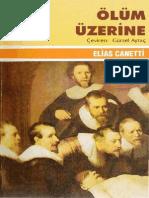 Elias Canetti - Olum Uzerine