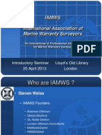 IAMWS Presentation