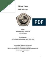 Minor Case Bell's Palsy