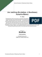 American Revolution Reactionary