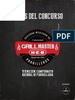 Bases Grill Master HEB 2014