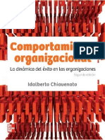 Comportamiento Organizacional CAP 1 - Chiavenato 2ed (2010)