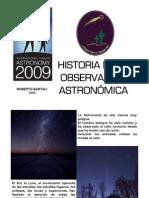 Historia de la observacion astronomica