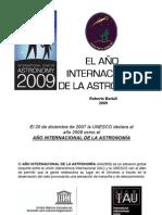 El Año Internacional de la Astronomia