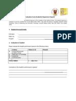 Industrail Training Form