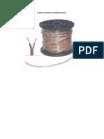 Cable de Audio Polarizado 2x14
