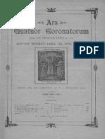 Ars Quatuor Coronatorum, Vol. 39 (1926)