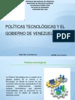 Políticas Tecnológicas y El Gobierno de Venezuela