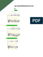 Analisis Lagu 1