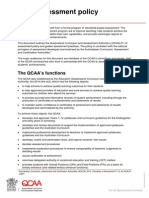 qcaa assessment policy