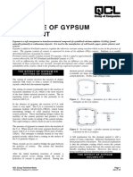 The Role of Gypsum in Cement