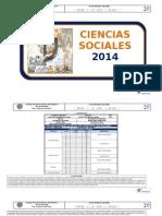 CIENCIAS SOCIALES-2014
