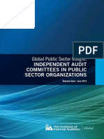 Independent Audit Committees in Public Sector Organizations