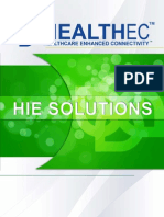 HEALTHEC HIE Framework - Helping Healthcare Organizations to Achieve Seamless Clinical Integration