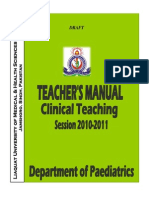 Peads Teacher Mannual