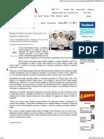 24-07-14 Propone Maloro Acosta Soluciones Con Unidad y Disposición - Critica