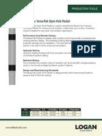 Versa-Pak Open Hole Packer