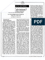 1988 Issue 11 - What is Calvinism?