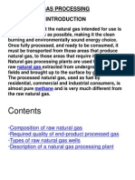 Intro-natural Gas Processing