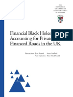 Financial Black Holes - UK PPP Based Roads