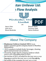 Cash flow statement analysis Hul Final
