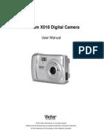 ViviCam X018 Camera Manual