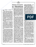 1988 Issue 12 - The American Medical Association Condemns Abortion - Counsel of Chalcedon