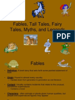fairytales myths legends tall tales pp