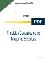 Principios de Maquinas Electricas