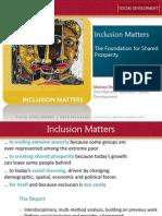 Presentation 1 Inclusion Matters-PAHO
