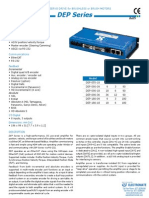 Harmonic Dep Series Catalog