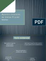 Aportes Teóricos de Viktor Frankl