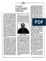1989 Issue 1 - In Christ Reside Security, Peace and Tranquility - Counsel of Chalcedon