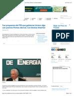 29-07-14 Fue propuesta del PRI que gobierno hiciera algo con pasivos Pemex