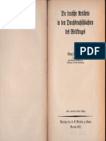 Bruchmueller - Die Deutsche Artillerie in den Durchbruchschlachten des Weltkrieges - Zweite Auflage - 1922