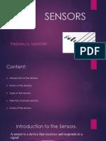 About Sensors