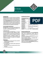 Backer Rod Relleno de Jtc y Jlc