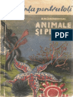 Animale Si Plante ( Scurta Introducere in Biologie)