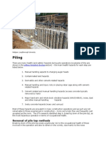 Piles Construction
