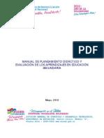 Manual de Planeam_Eval Aprend_Secundaria