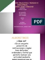 Algoritmos Alejandro Osorio-Carlos Rodriguez